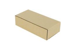 конец коробки коробки предпосылки вверх по белизне Стоковая Фотография RF