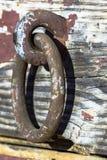 Конец кольца металла вверх Стоковое Изображение RF