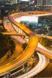 Конец моста пересечения шоссе вверх Стоковая Фотография RF