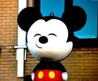 Конец мыши Funko Mickey вверх Стоковое Изображение