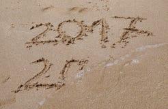 Конец 2016, начинать 2017 Стоковое Изображение