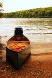 Конец дней на озере Стоковые Фото