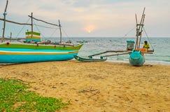 Конец дня ` s рыболова стоковое фото