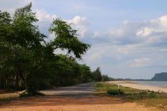 Конец дороги Стоковые Фото