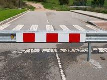 Конец дорожного знака стоковое фото rf