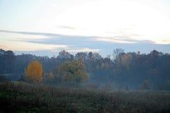Конец осени в сельской местности, 2015 2 Стоковые Изображения RF