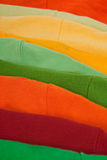 конец одевает цветастое поднимающее вверх Стоковые Фото