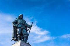 Конец памятника Самюэля Champlain вверх Стоковое фото RF