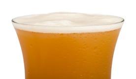 Конец пива кружки вверх по предпосылке Стоковое Фото