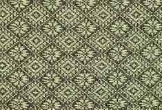 Конец поверхности половика стиля Таиланда вверх по винтажной ткани сделан ha Стоковые Изображения