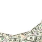 Предпосылка кредиток доллара Стоковые Фотографии RF