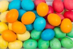 Предпосылка пасхальных яя Стоковые Изображения RF