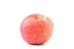 конец предпосылки яблока вверх по белизне Стоковые Изображения RF