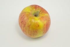 конец предпосылки яблока вверх по белизне Стоковые Фото