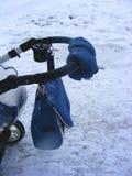 Конец прогулочной коляски сумки вверх Стоковое Изображение