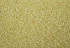 Конец рамки Unbleached кристаллов сахара полный вверх Стоковое Фото