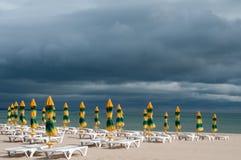 Конец сезона пляжа Стоковая Фотография