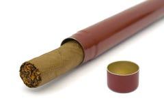 конец сигары коробки вверх Стоковая Фотография RF
