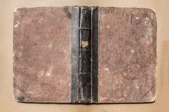 Конец старой книги вверх Стоковые Фотографии RF