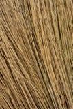 Конец текстуры травы ручки веника вверх по предпосылке взгляда Стоковые Фотографии RF