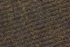 Конец текстуры шерстей ткани вверх как предпосылка Стоковое фото RF