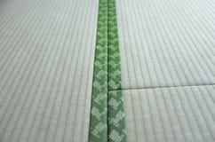 Конец тюфяка tatami Японии традиционный вверх Стоковая Фотография RF