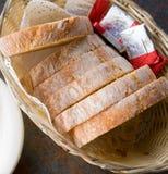 конец хлеба корзины вверх Стоковые Изображения RF