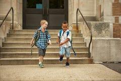 Конец школы Стоковая Фотография RF