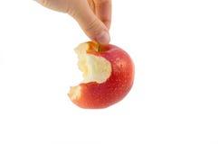 конец яблока Стоковые Изображения RF