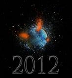 конец 2012 дней Стоковые Фотографии RF