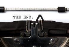 конец Стоковая Фотография RF
