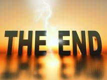 Конец Стоковое Изображение RF