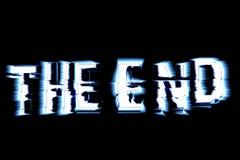 конец Стоковые Фото