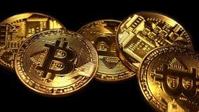 Конец Bitcoin вверх сток-видео