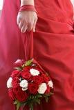 конец s невесты букета вверх Стоковое фото RF