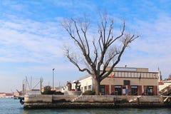Конечная станция vaporetto San Basilio стоковые фото