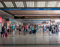 Конечные станции помещают, Рим, Италия Стоковое Фото