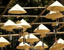 конический вьетнамец Вьетнама шлемов Стоковое Изображение