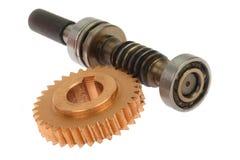 коническое зубчатое колесо стоковое изображение
