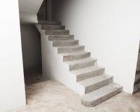 конкретная лестница Стоковая Фотография RF