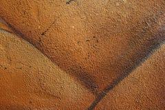конкретная зернистая покрашенная стена текстуры Стоковое Изображение