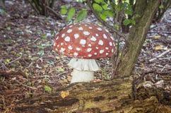 Конкретная имитация гриба пластинчатого гриба мухы Стоковая Фотография