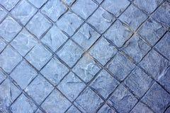 Конкретная картина штемпеля для напольного пола Стоковое Изображение