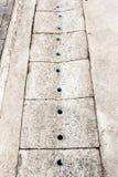 Конкретная крышка сточной канавы Стоковые Изображения RF
