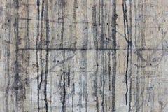 конкретная пакостная стена Стоковые Изображения RF