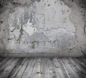 Конкретная пустая комната Стоковое Изображение