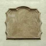 конкретная пустая стена знака Стоковое Изображение