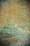 конкретная ржавая стена текстуры Стоковая Фотография