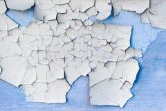 конкретная стена шелушения краски Стоковая Фотография