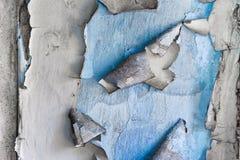 конкретная стена шелушения краски Стоковое Изображение